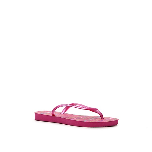 Havaianas Girls' Slim Garden Toddler & Youth Flip Flop