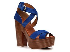 Ralph Lauren Collection Alannah Suede Sandal