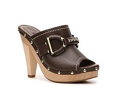 Ralph Lauren Collection Acela Leather Horsebit Mule