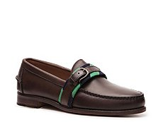 Ralph Lauren Collection Elforth Leather Buckle Slip-On