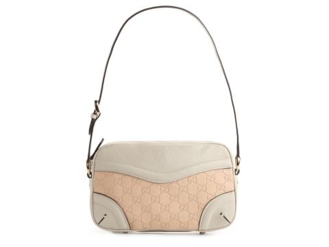 Gucci Small Signature Leather Shoulder Bag 10