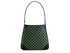 Gucci Signature Fabric Shoulder Bag