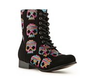 Iron Fist Sugar Hiccup Combat Boot