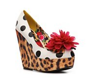 Iron Fist Lolita Love Wedge Pump