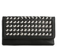 Poppie Jones Studded Flap Clutch