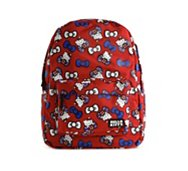 Hello Kitty British Print Bow Backpack