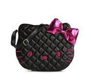 Hello Kitty Black Face Crossbody Bag