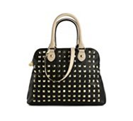 Betsey Johnson Spring Studded Dome Satchel