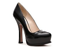 Prada Leather Platform Pump