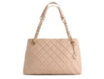 Audrey Brooke Quilted Shopper Tote