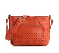 Perlina Farah Leather Cross Body Bag