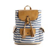 POVERTY FLATS by rian Stripey Back Pack