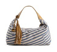 POVERTY FLATS by rian Stripey Shoulder Bag