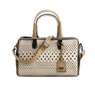 POVERTY FLATS by rian Perforated Satchel