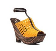 Vogue Dirty Martini Wedge Sandal