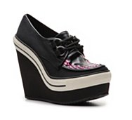Rock & Candy London Town Wedge Sneaker