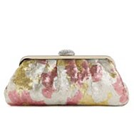 Lulu Townsend Multi Sequin Frame Clutch