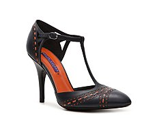Ralph Lauren Collection Astor Leather Stitch Pump