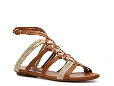 Ralph Lauren Collection Marian Leather Gladiator Sandal