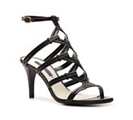 Ralph Lauren Collection Arabelle Leather Cutout Sandal