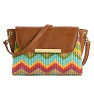 Steve Madden BMika Straw Cross Body Bag