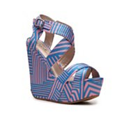 Qupid Curve-02 Wedge Sandal