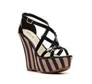Qupid Finder-60 Wedge Sandal