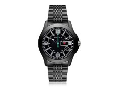 Gucci Men's Timeless Black Stainless Steel Watch