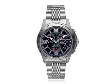 Gucci Men's Timeless Silver Stainless Steel Chronograph Watch