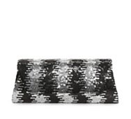 Lulu Townsend Sequin Flap Clutch
