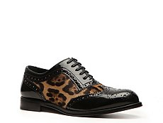 Dolce & Gabbana Leopard Pony Hair Oxford
