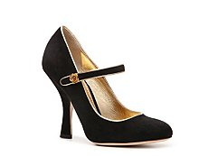 Dolce & Gabbana Suede Mary Jane Pump