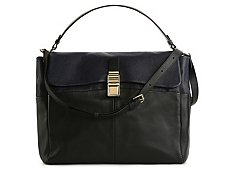 Lanvin Leather Messenger Bag