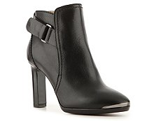 Lanvin Leather Buckle Bootie