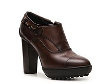 Tod's Leather Platform Bootie