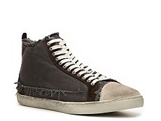 Dolce & Gabbana Distressed Canvas Sneaker