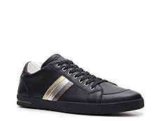 Dolce & Gabbana Leather Striped Sneaker