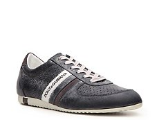 Dolce & Gabbana Perforated Leather Sneaker