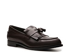 Tod's Leather Kiltie Tassel Loafer