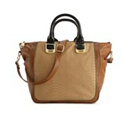 Steve Madden Gammit Zipper Satchel