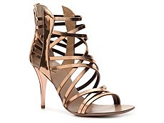 Giuseppe Zanotti Metallic Patent Leather Gladiator Sandal
