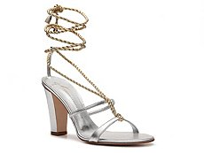 Giuseppe Zanotti Metallic Leather Rope Sandal