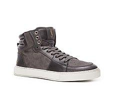 Yves Saint Laurent Suede & Leather Sneaker