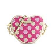 Betsey Johnson Dotie Dots Crossbody Bag