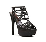 2 Lips Too Too Sheer Platform Sandal