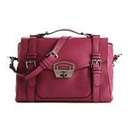 Joelle Hawkens by treesje Freedom Leather Messenger Bag