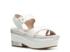 Miu Miu Patent Leather Platform Sandal