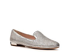 Miu Miu Metallic Leather Studded Flat