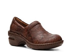 b.o.c Peggy Floral Embossed Clog