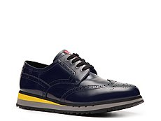Prada Leather Wingtip Sport Oxford